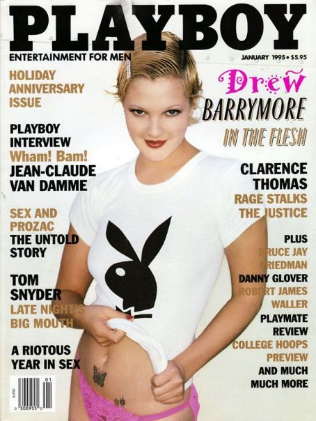 Drew Barrymore - Playboy Magazine [United States] (January 1995)