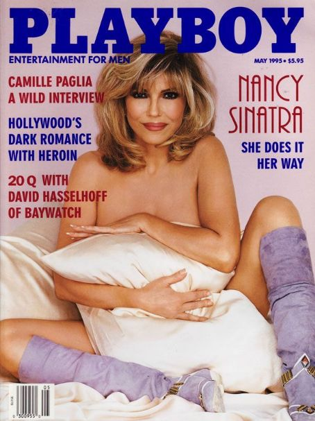 Nancy Sinatra Playboy 1995 http://www.whosdatedwho.com/tpx_2752731/playboy-magazine-united-states-may-1995/