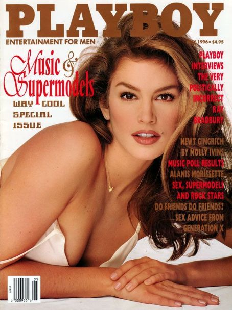 Cindy Crawford - Playboy Magazine [United States] (May 1996)