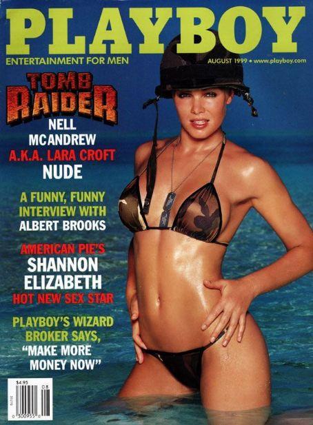 Shannon Elizabeth Playboy Magazine United States August 1999