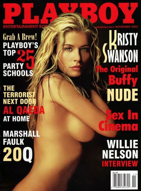 Kristy Swanson - Playboy Magazine [United States] (November 2002)