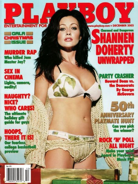 Shannen Doherty - Playboy Magazine [United States] (December 2003)