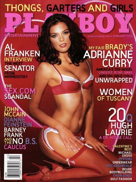 Adrianne Curry - Playboy Magazine [United States] (February 2006)