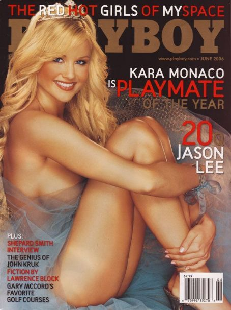 Kara Monaco - Playboy Magazine [United States] (June 2006)