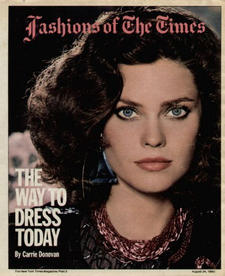 Carol Alt - The New York Times Magazine [United States] (24 August 1980)