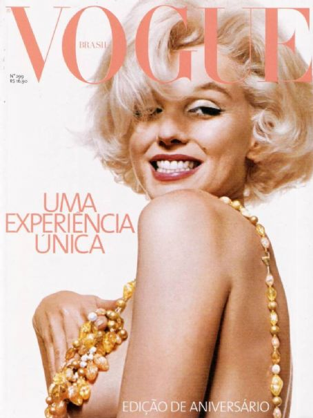 Marilyn Monroe - Vogue Magazine [Brazil] (May 2003)