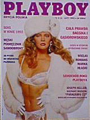 Bogna Sworowska - Playboy Magazine Cover [Poland] (February 1993)