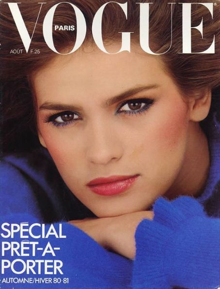 Gia Carangi - Vogue Magazine [France] (August 1980)