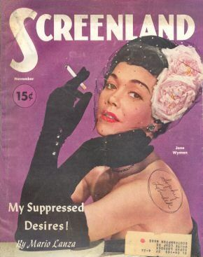 Jane Wyman - Screenland Magazine [United States] (November 1951)