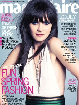 On the Cover of Marie Claire: Zooey 101