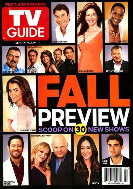 Julie Benz - TV Guide Magazine Cover [United States] (13 September 2010)