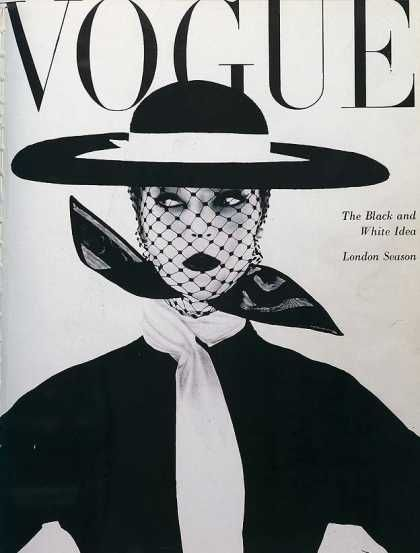 Jean Patchett - Vogue Magazine [United Kingdom] (June 1950)