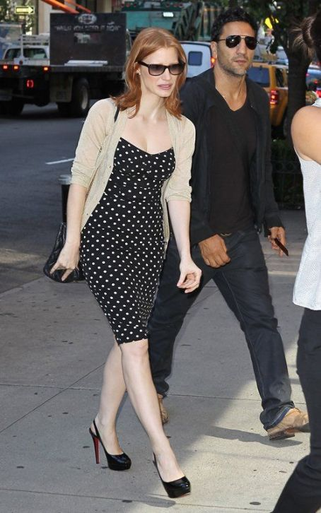 "Jessica Chastain  Visits ""Good Day New York"""