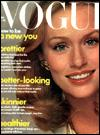 Lauren Hutton - Vogue Magazine [United States] (January 1975)