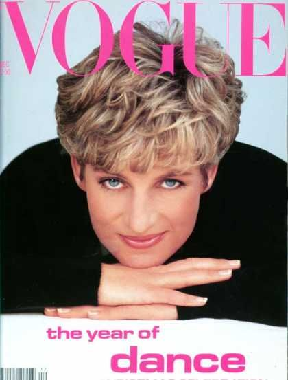 Princess Diana - Vogue Magazine [United States] (December 1991)