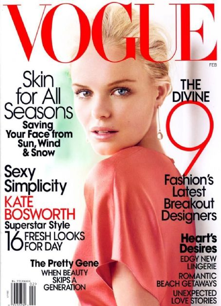Kate Bosworth - Vogue Magazine [United States] (February 2008)