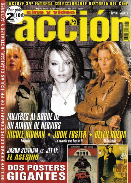 Jodie Foster - Accion Cine-Video Magazine [Spain] (October 2007)