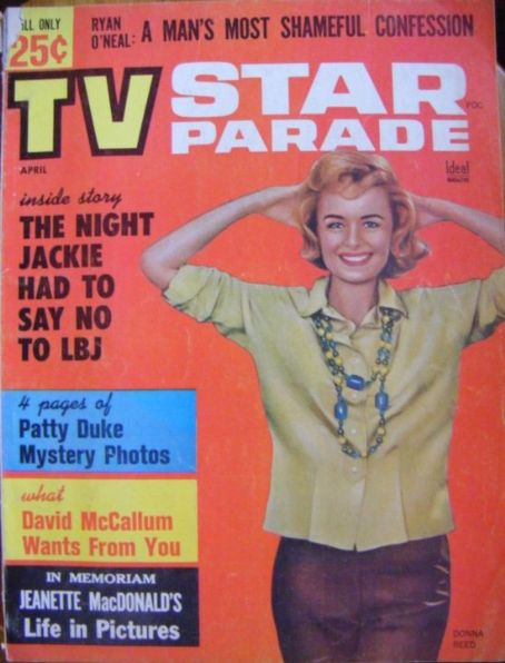 Donna Reed - TV Star Parade Magazine [United States] (April 1965)