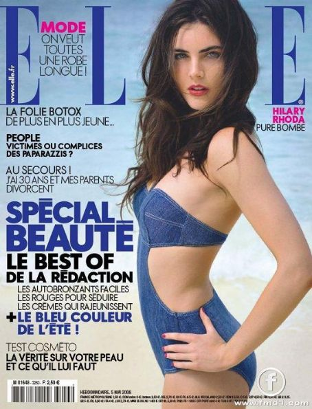 Hilary Rhoda - Elle Magazine [France] (5 May 2008)