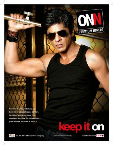 More Shah Rukh Khan Lux Cozi ONN Advert Captures and Photo Shoots