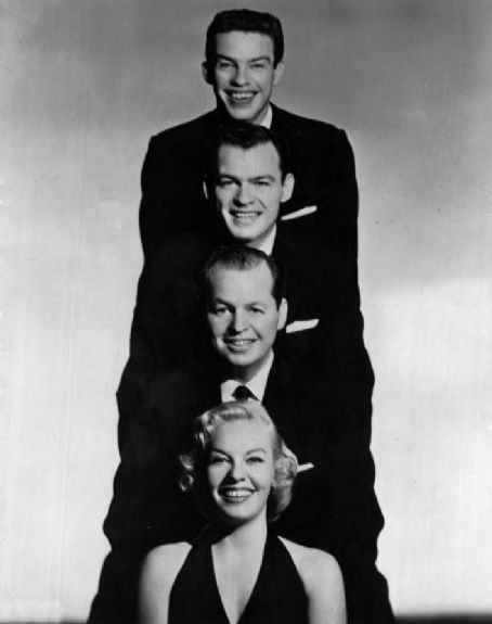 Jaye P. Morgan Morgan was not the only vocalist in her family. Three of her brothers were also singers. From top-Dick, Duke and Charlie with Jaye P. for a 1959 appearance on The Jimmy Dean Show