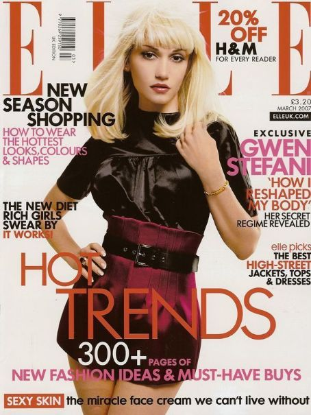 Gwen Stefani - Elle Magazine [United Kingdom] (March 2007)