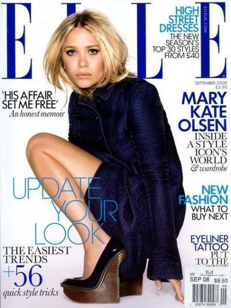 Mary-Kate Olsen - Elle Magazine [United Kingdom] (September 2008)