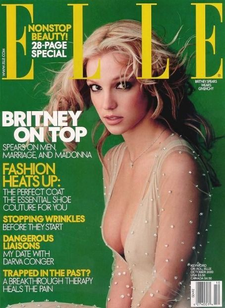 Britney Spears - Elle Magazine [United States] (5 October 2000)