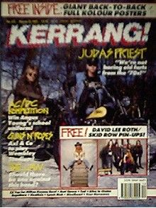 Rob Halford - Kerrang Magazine Cover [United Kingdom] (23 March 1991)
