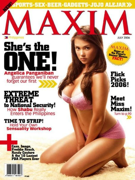 Angelica Panganiban - Maxim Magazine [Philippines] (July 2006)