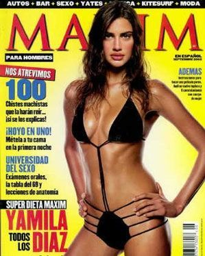 Maxim [Spain] Magazine Covers, Articles, Interviews, Pictorials