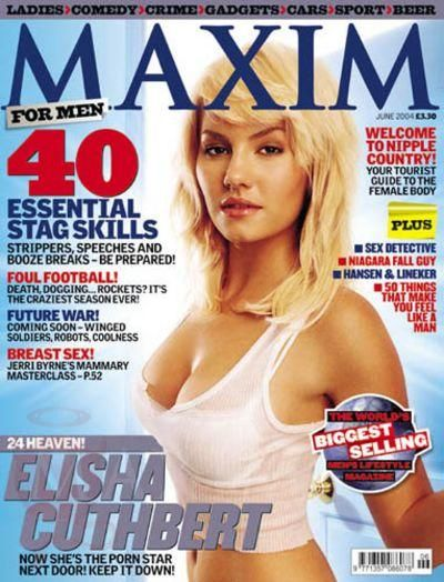 Elisha Cuthbert - Maxim Magazine [United Kingdom] (June 2004)