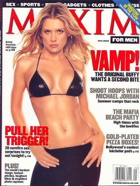 Related Links: Kristy Swanson, Maxim Magazine [United States] (May 2000)