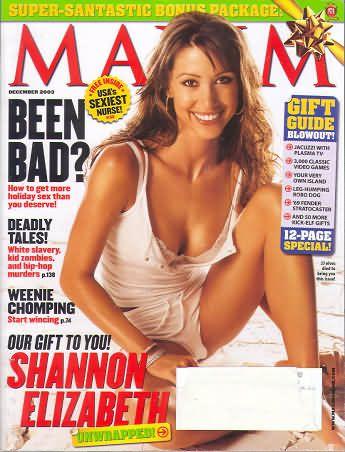 Related Links Shannon Elizabeth Maxim Magazine United States December