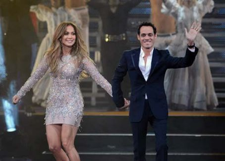 Jennifer Lopez: reunited onstage in Las Vegas