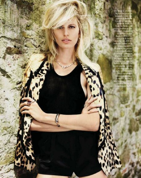 Karolina Kurkova Vogue Spain July 2012