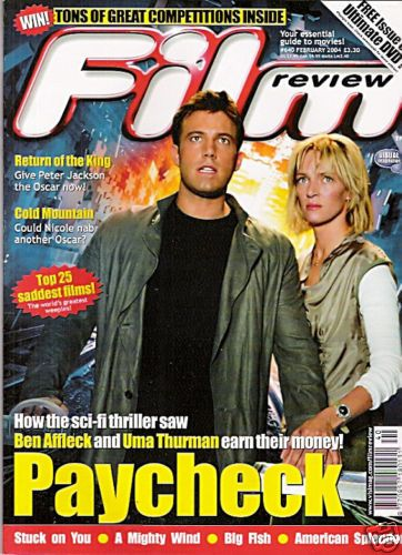 Ben Affleck - Film Review Magazine [United Kingdom] (February 2004)