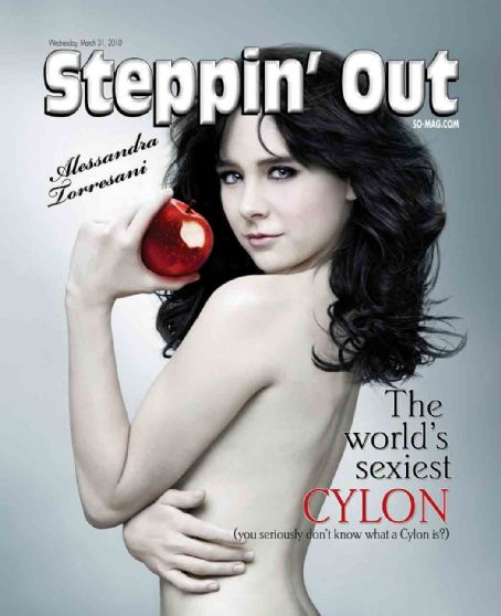 Alessandra Torresani - Steppin Out Magazine Cover [United States] (31 March 2010)