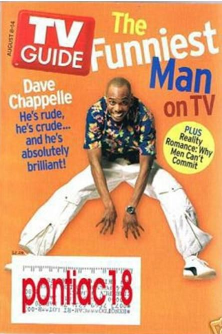 Dave Chappelle - TV Guide Magazine [United States] (8 August 2004)