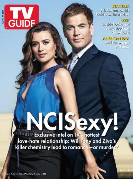 Cote De Pablo - TV Guide Magazine [United States] (11 May 2009)