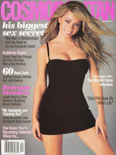 Mariah Carey - Cosmopolitan Magazine [United States] (December 1997)