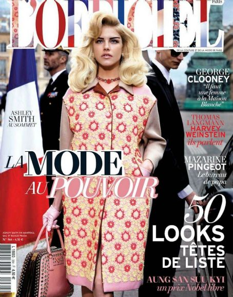 Ashley Smith L'Officiel Paris April 2012