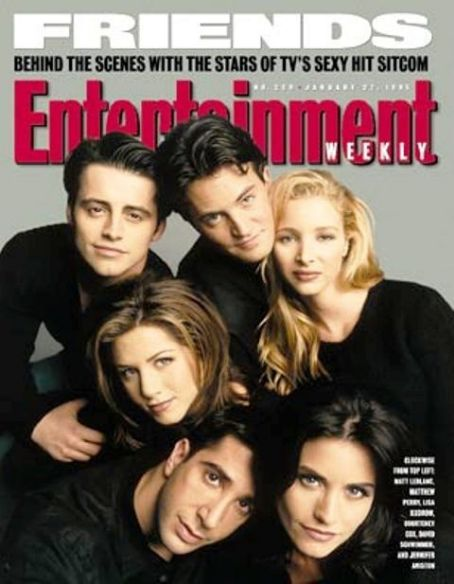 Jennifer Aniston - Entertainment Weekly Magazine [United States] (31 January 1995)