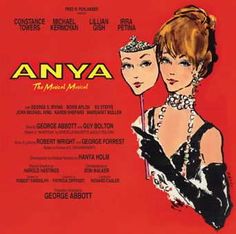 Constance Towers Anya 1966 Broadway Musical Cast Album