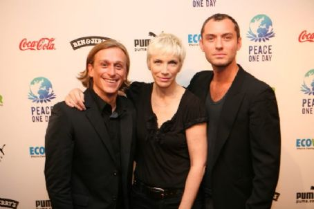 Annie Lennox and Jude Law