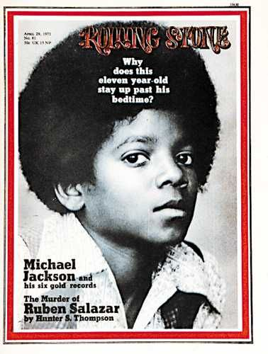 Michael Jackson - Rolling Stone Magazine [United States] (29 April 1971)