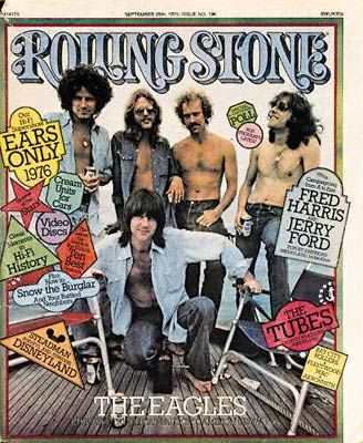 The Eagles - Rolling Stone Magazine [United States] (25 September 1975)