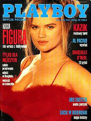 Katarzyna Figura - Playboy Magazine Cover [Poland] (May 1994)