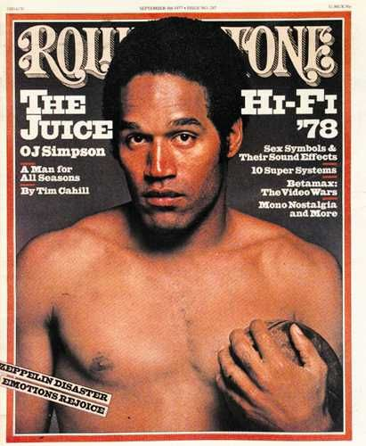 OJ Simpson - Rolling Stone Magazine [United States] (8 September 1977)