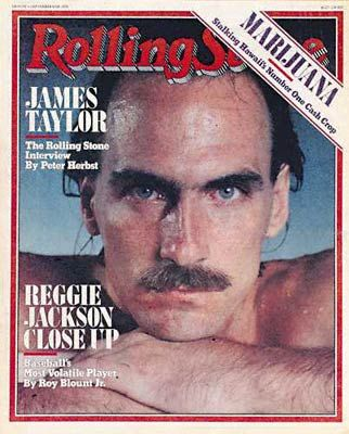 James Taylor - Rolling Stone Magazine [United States] (6 September 1979)